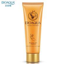 Bioaquaミラクル馬油ハンドクリームのスキンケア栄養保湿水和剥離防止クラック韓国ハンドクリーム60グラム