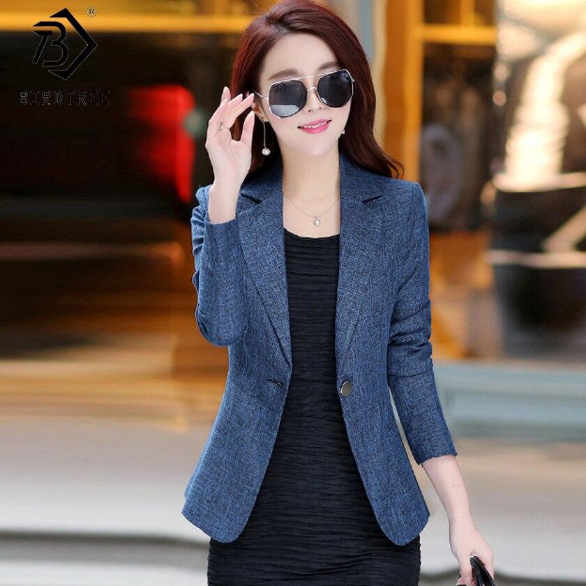 Ladies Short Suit Jackets Women Jacket Elegant One Button Coat Women Business Suit Blouson Femme Casual Slim Tops C81102Z