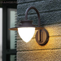 Скандинавский уличный современный настенный светильник  алюминиевый водонепроницаемый светодиодный светильник для крыльца  бра  настенны...