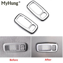 For Kia Sportage R 2011 2012 2013 2014 2015 Car-Styling Cosmetic Lamp Cover Trim  Light Cover Abs Chrome Car Accessories 2Pcs