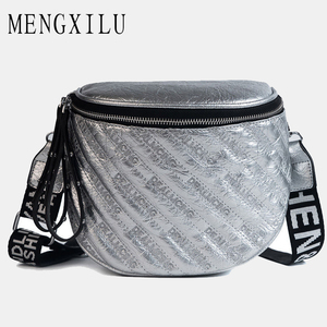 Image 1 - MENGXILU Luxus Handtaschen Frauen Taschen Designer Plaid Frauen Umhängetasche Damen Breiten Gurt bolsas de luxo mulheres sacos de design