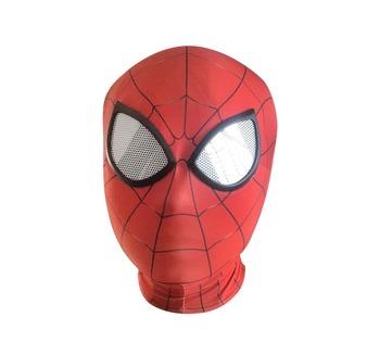 3D Spiderman Homecoming Masks Avengers Infinity War Iron Spider Man Cosplay Costumes Lycra Mask Superhero Lenses