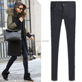 Plus size 6XL jeans Blue/black women high waisted jeans Denim pants skinny stretch baqueros