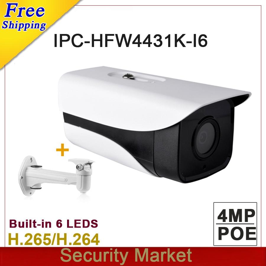 Original dahua Stellar Camera 4MP DH IPC HFW4431K I6 Network IP IR 150m Bullet H265 H264