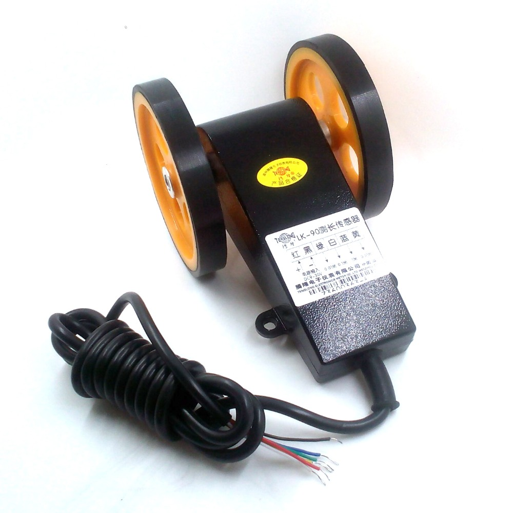 LK-90S Length meter Digital length counter Digital length gauge high quality digital length counter meter with length measurment wheel
