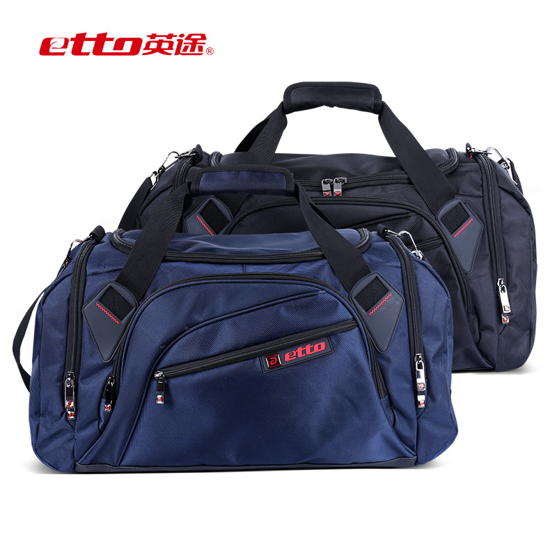 цена на Etto New Professional Single Shoulder Gym Bag Big Capacity Portable Ball Sports Fitness Bag With Independent Shoes Storage BGL03