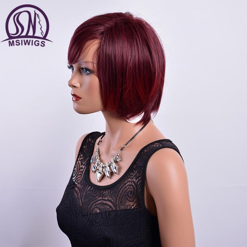Burgundy Wigs for Black Women