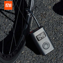 Xiaomi Mijia Portable Smart Digital Tire Pressure Detection Electric Inflator Pump for Bike Motorcycle Car Football , In stock