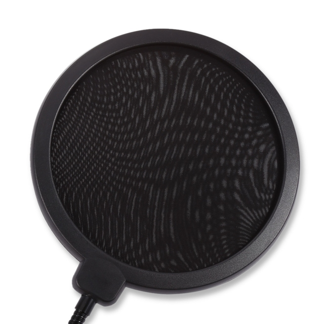 Clamp On Microphone Pop Filter….Sound better…Get it now….