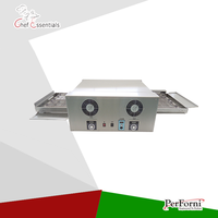 PF EP 12 Stainless Steel Electric Conveyor Pizza Oven 12 Pizza Machine Use For Commercial Pizza