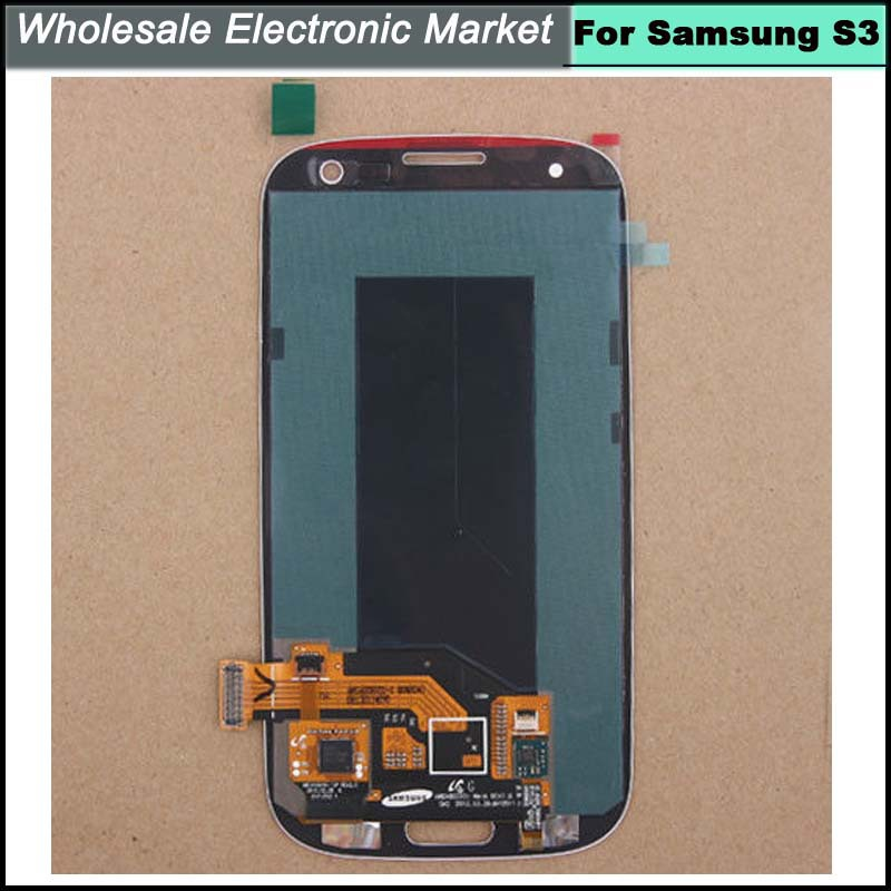 Brand new White For Samsung Galaxy SIII i9300 i9305 i747 i535 T999 LCD Display Touch Digitizer Screen Assembly With logo