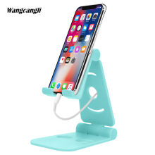 Multifunction Mobile Phone Mount Universal Holder for iphone Collapsible mobile support desktop holder Tablet stand