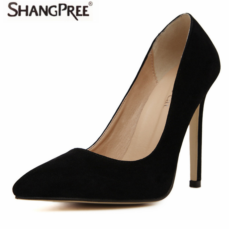 New 2017 High quality Plus size 35-41 Brand Women pumps Sexy High Heels Pointed Toe Party Shoes Woman Wedding Office High Heels sexy pointed toe high heels women pumps shoes new spring brand design ladies wedding shoes summer dress pumps size 35 42 302 1pa