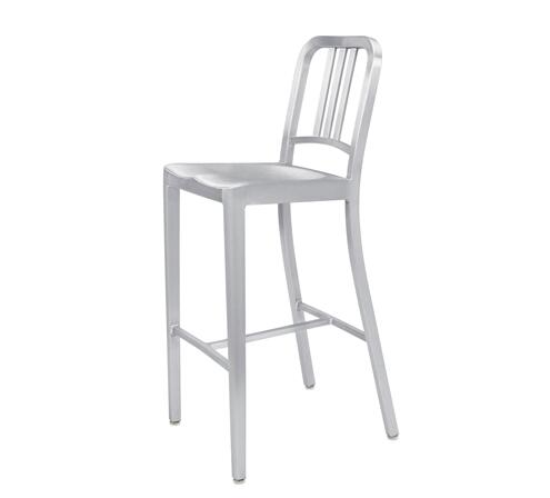цены YINGYI New Design Modern Leisure Aluminum Dining Bar Chair Free Shipping