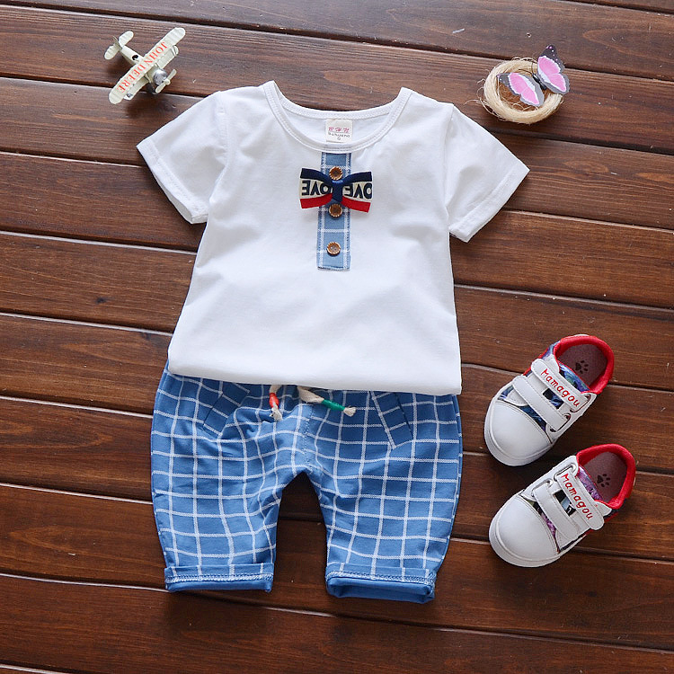 2017 Summer Baby Clothes Set Newborn Kids Boys Clothes Set ...
