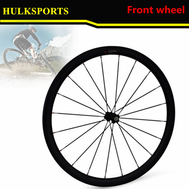 Front 38mm Rear 38mm Carbon Tubular Bike Wheelset 23mm Width Rims 700C Bicycles Road wheels Suitable Shiman campagnol Speed carbon wheels 700c 88mm depth 25mm bicycle bike rims 3k ud glossy matte road bicycles rims customize carbon rims