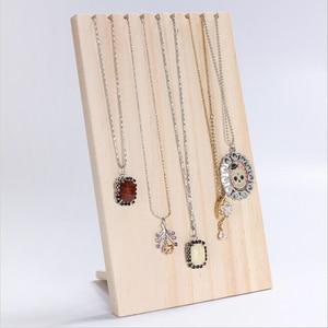 Unfinished Wood Jewelry Displa