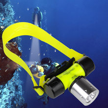 High Power 1800 Lumen XM-L T6 3 Modes Super Bright Underwater Head Diving Lamp Flashlight Torch for Swimming Camping Hiking