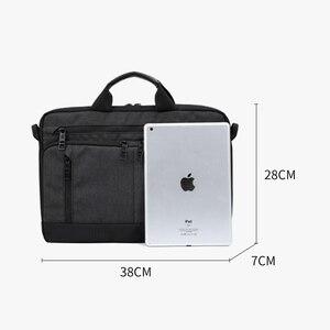 Image 5 - IX משולב גברים ילקוטים 14 אינץ מחשב נייד תיק גברים של עסקים Crossbody תיק בני עמיד שליח כתף שקיות XA266ZC