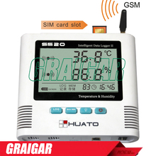 Best Buy NEW Brand gsm series sms alarm humidity data loggerS520-TH-GSM