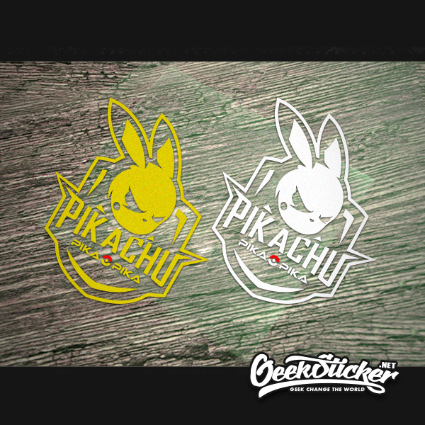Image 2 - Waterproof Reflective Cool Pikachu Car Styling car Sticker Exterior Decals for Mazda rx7 suzuki vw Beetle infiniti q50 bmw e46-in Car Stickers from Automobiles & Motorcycles