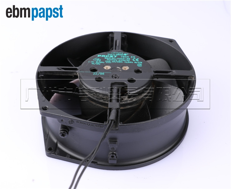 7855ES W2S130-AA03-98 AC 230V 50/ 0Hz 45 server inverter cooling fan 172*172*55mm tg17055ha2bl ac 220v 0 3a 46w 50 60hz 3100rpm double ball bearing 17255 17cm 172 150 55mm 2 wires silent cooling fan