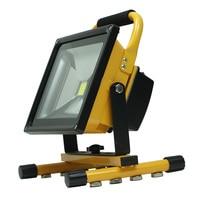 50W Magnetische saug tragbare lampe LED arbeit licht starke magnet flutlicht-in Tragbare Laternen aus Licht & Beleuchtung bei