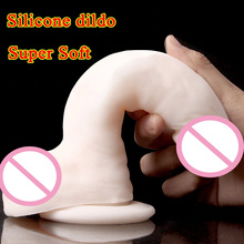 Soft Silicone Dildo Suction Cup Realistic Penis Artificial Real Dildos For Women Fake Dick Woman Masturbator Adult Sex Toys
