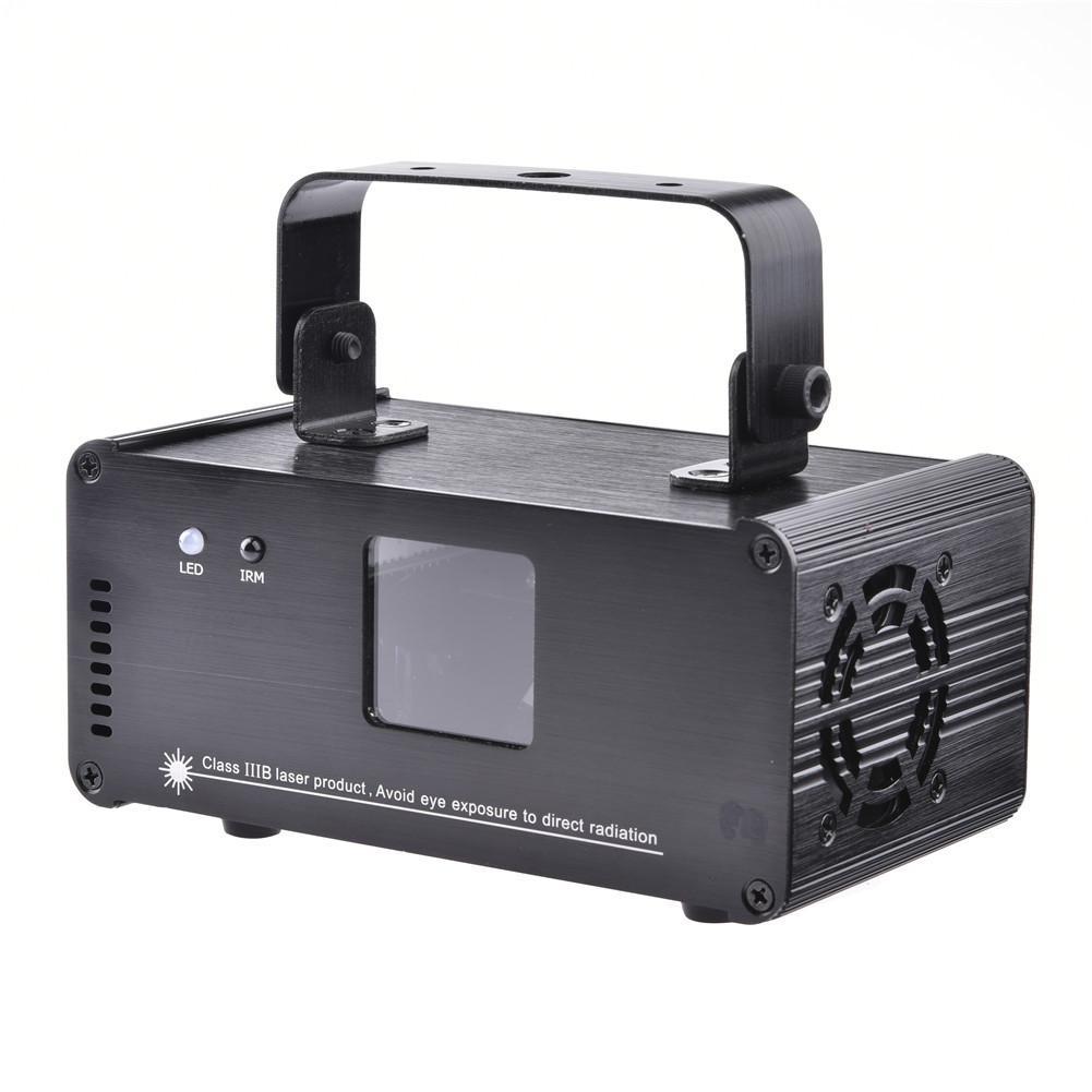 RGB Éclairage de Scène Effet DMX Laser Projecteur Avec Télécommande Lumiere profession Lumières Disco Dj Party Stage de Lumière DM-RGB400 forsale