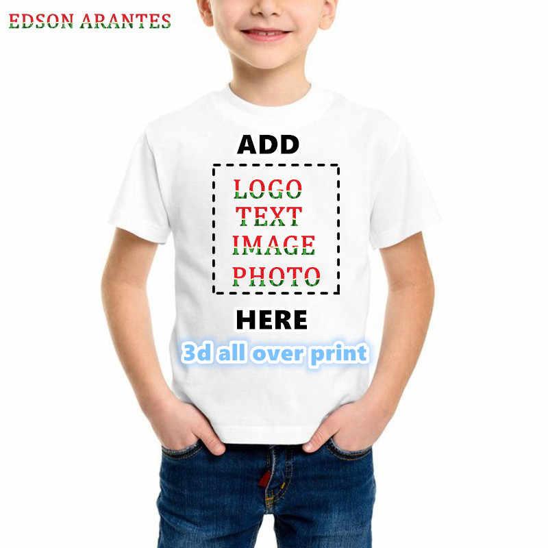 Spersonalizowane koszulki mężczyzn, kobiet projektowanie własną koszulkę z przodu z tyłu 3d druku 2 jednostronne koszule dodaj swój obraz zdjęcie Logo tekst numer XXS-6XL