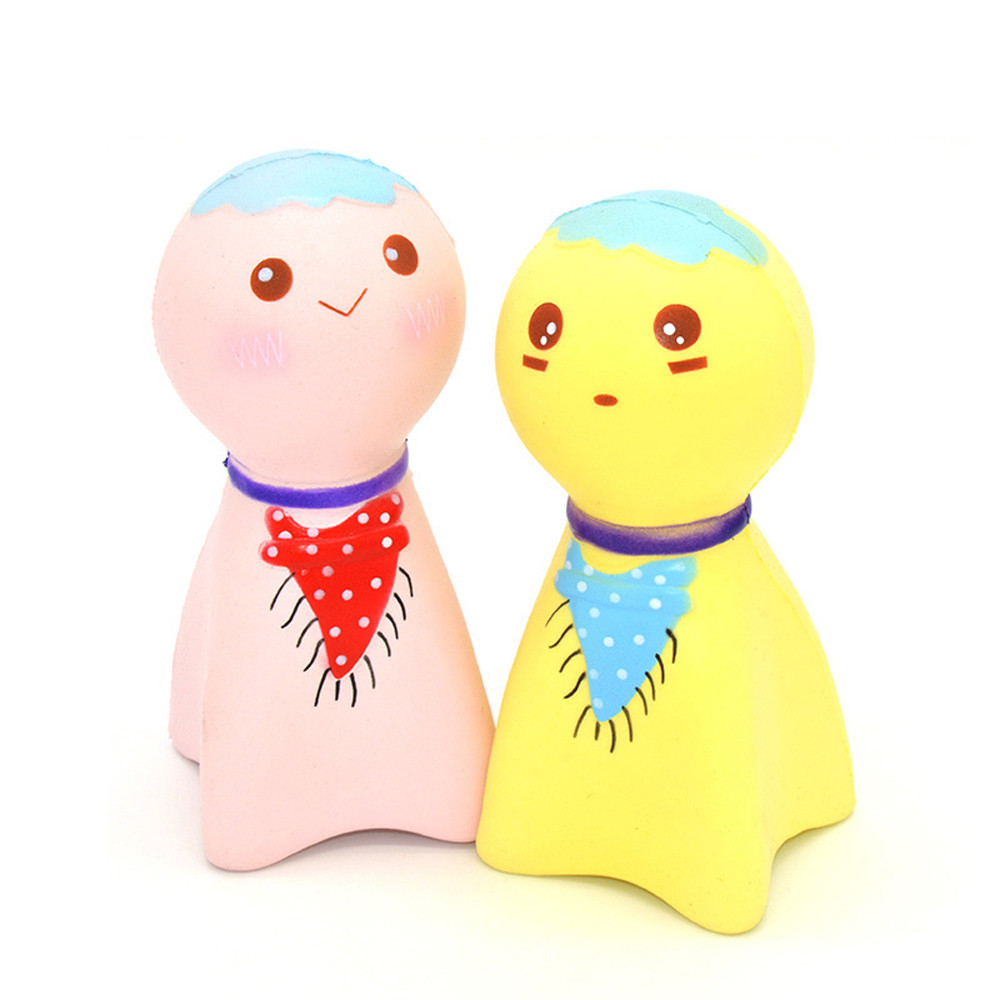 2017 A# random Exquisite Fun Cute Sunny Doll Scented Squishy Charm Slow Rising Simulation Toy