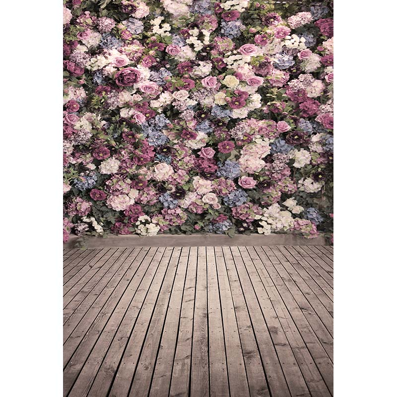 Customize vinyl cloth print 3 D floral theme party photo studio backgrounds for portrait photography backdrops props CM-5132-T