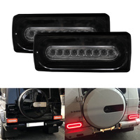 Dynamic style Smoke Lens LED Taillight for 90 2015 Benz W463 G500 G550 G55 AMG