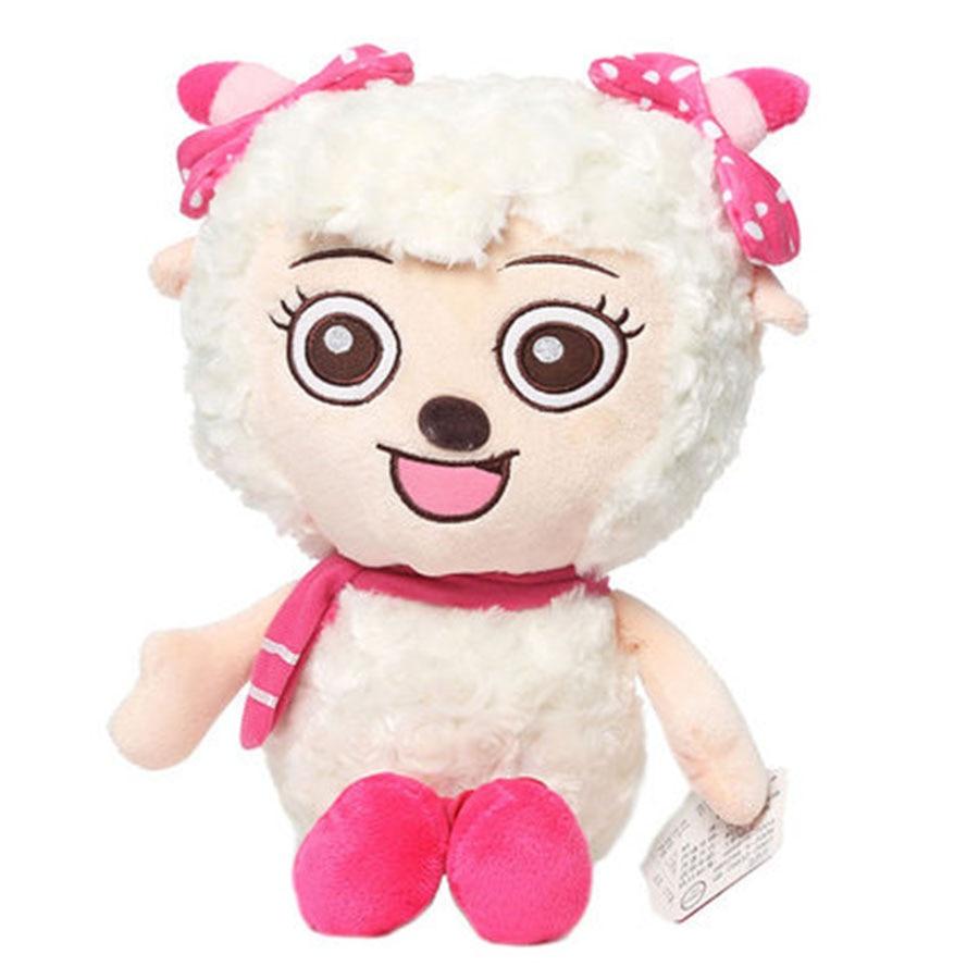 Mini Sheep Plush Toys For Kids Gifts Birthday Dolls Baby Peluche Cabra Kawaii Stuff Funny Toys Cute Sheep Plush Doll 70C0582