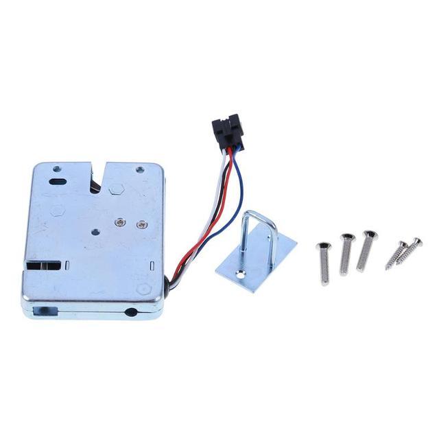 Excellent Kunci Kontrol Listrik Dc 12 V 24 V 2A Elektromagnetik Kunci Pintu Wiring Digital Resources Bioskbiperorg