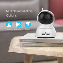 1080P Mini Wifi IP Camera Wireless P2P Baby Monitor Network CCTV Security Camera with IR-cut Two Way Video 720P Pan/Tilt
