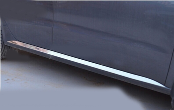 car styling for 2013 VW Lavida High quality stainless steel under body side moldings side door decoration
