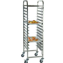 (Ship from EU) 16 Levels Shelving Stainless Steel Gastronorm