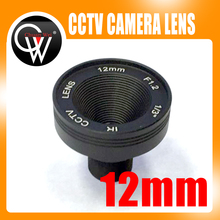 1/3″ F1.2 CCTV Fixed Iris IR Infrared 12mm lens M12 Mount Lens For Security CCTV Camera