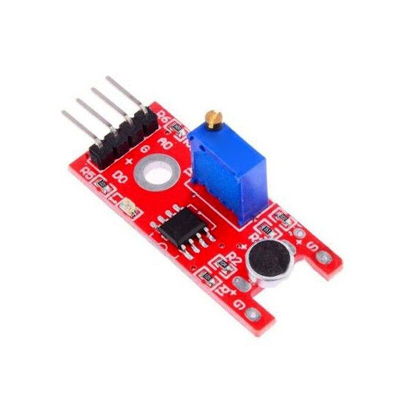 High Quality 1 5 10pcs Microphone Sound Sensor Module Board KY 038