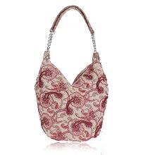 Mode Sicken Frauen Vintage Handtasche Hohe Qualität Leinen Mädchen Tasche Dicke Casual Bag Sac ein haupt