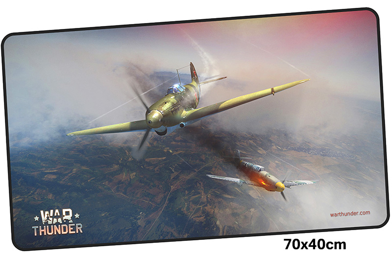 war thunder mousepad gamer 700x400X3MM gaming mouse pad large Cartoon notebook pc accessories laptop padmouse ergonomic mat