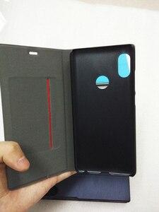 "Image 2 - [Mi oem 디자인] xiaomi redmi note 5 케이스 5.99 ""플립 글로벌 버전 redmi note 5 pro 커버 xiaomi note 5 pro 케이스 pu 가죽 pc"