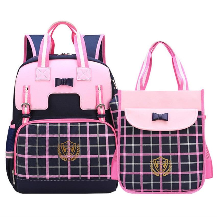 2019 Orthopedic Backpack Girl School Bags Set Kids School Book Bag Cute Children Knapsack School Bag For Girl Satchel