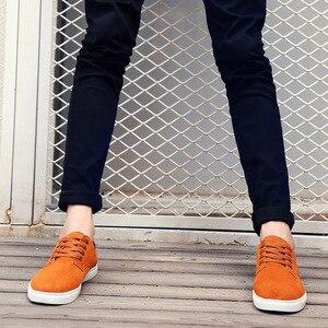 Image 5 - حذاء كاجوال رجالي حذاء رجالي بدون كعب ماركة جينتلمان أحذية رياضية رجالي