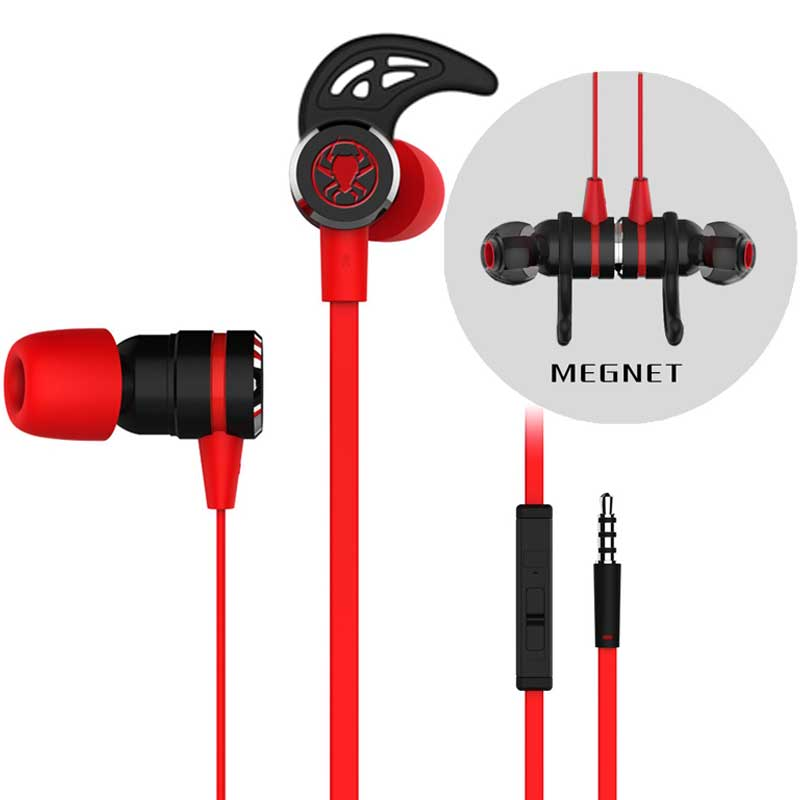 MLLSE G20 Sport Earphones Gaming Magnetic Stereo In-Ear Earphone Computer Earbuds With Microphone Headset For Xiaomi Samsung