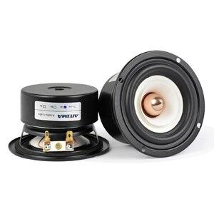 Image 1 - AIYIMA 2Pcs 3Inch Mini Audio Portable Speakers 4Ohm 8Ohm 15W Full Range Hifi Bass Speaker Altavoz Portatil Speaker DIY
