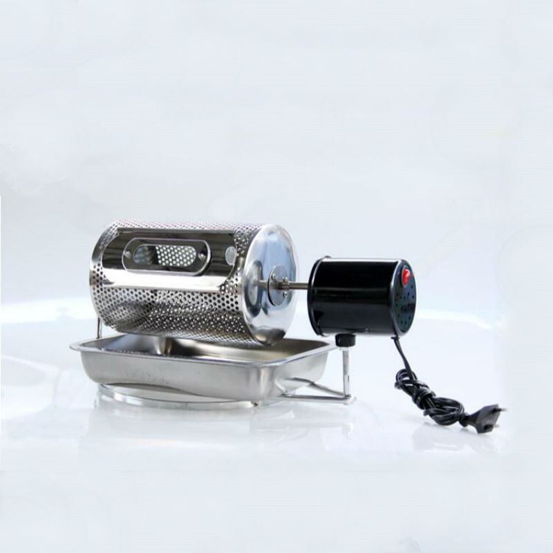 Household Coffee Roasting Machine Small Stainless Steel Electric Coffee Bean Roaster Baking Tool