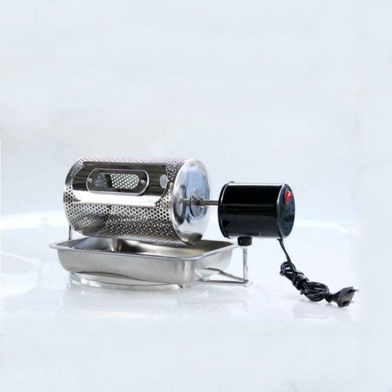 Gospodarstwa domowego urządzenie do prażenia kawy małe ze stali nierdzewnej elektryczna palarnia do ziaren kawy narzędzie do pieczenia w Zestawy akcesoriów do kawy od Dom i ogród na  Grupa 1
