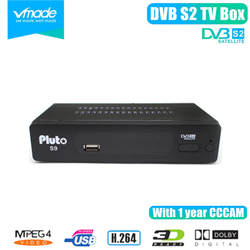 Vmade DVB S2 Плутон S9 цифровой спутниковый ресивер box построен Full HD PVR поддержка 3G H.264 IP ТВ Youtube Cccam ТВ телеприставке